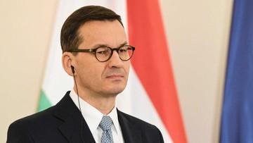 """Morawiecki krytykuje słowa Macrona o NATO. """"Nieodpowiedzialność"""""""