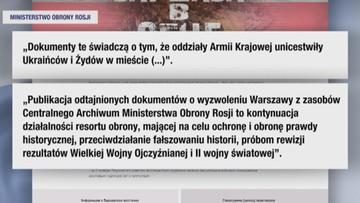 """Rosja odtajniła dokumenty. """"Oddziały Armii Krajowej unicestwiły Ukraińców i Żydów"""""""