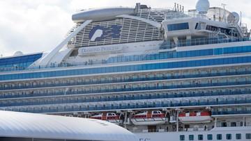 Koronawirus: nie żyje dwoje pasażerów z wycieczkowca Diamond Princess