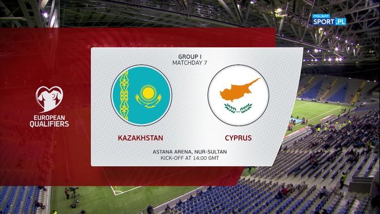 Kazachstan - Cypr 1:2. Skrót meczu