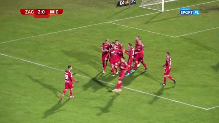 Zagłębie Sosnowiec - Wigry Suwałki 2:0. Skrót meczu