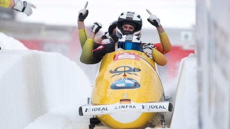 PŚ w bobslejach: Wygrana niemieckiej czwórki w La Plagne