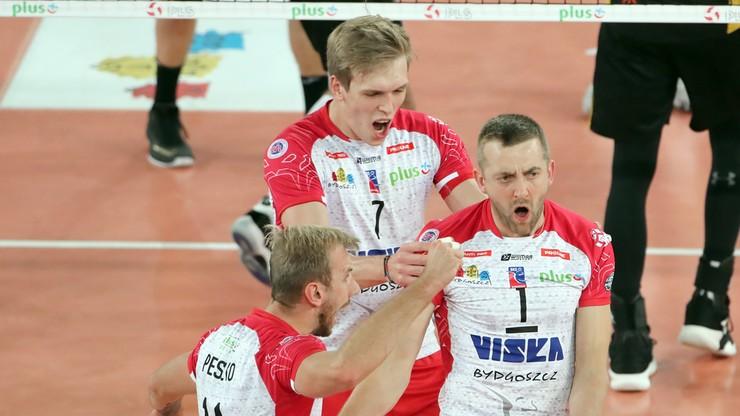 PlusLiga: Cuprum Lubin - BKS Visła Bydgoszcz. Relacja i wynik na żywo