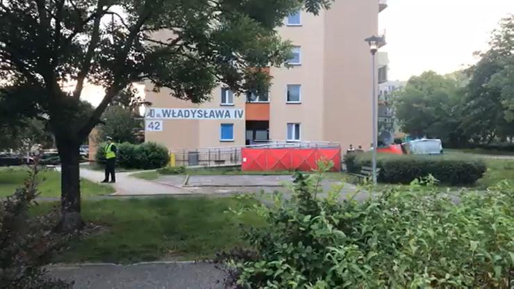 Dwoje dzieci spadło z 9. piętra. Zginęły na miejscu