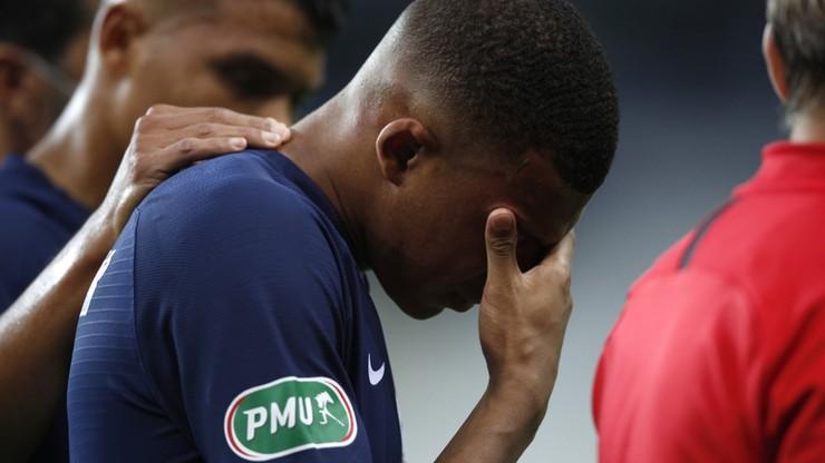 Brutalny faul przekreśli szanse Kyliana Mbappe na występ w Lidze Mistrzów?