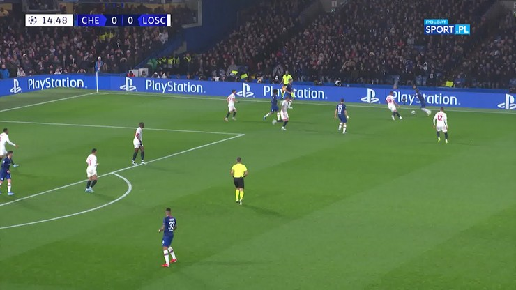 Chelsea - Lille OSC 2:1. Skrót meczu
