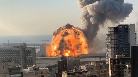 Zobacz wybuch w Bejrucie na najnowszym filmie w świetnej jakości 4K [FILM]