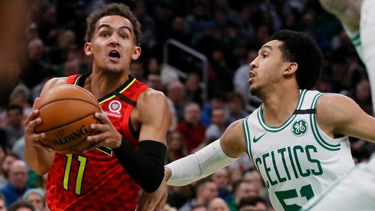NBA: Wyjątkowy mecz Younga i Hardena