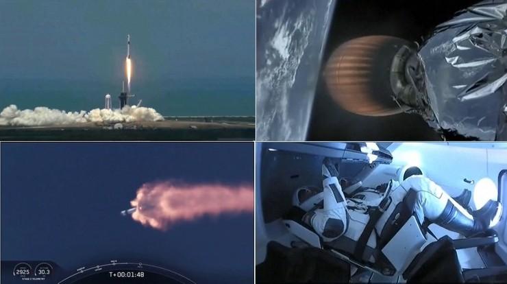 Stało się. Rakieta Muska wyniosła astronautów NASA w kosmos