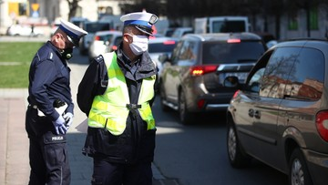 Ponad 80 policjantów z koronawirusem. 1720 na kwarantannie