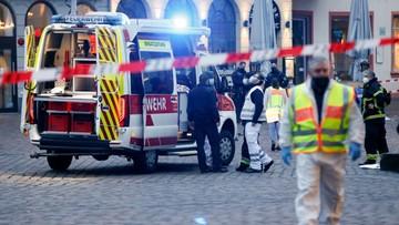 """Niemcy: samochód staranował pieszych na deptaku zabijając pięć osób. """"Wśród ofiar małe dziecko"""""""