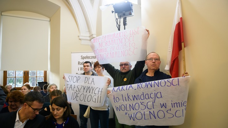 Poznań: przyjęto tzw. Europejską Kartę Równości. Centrum Życia i Rodziny protestuje