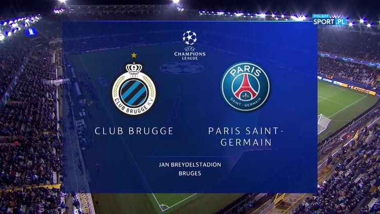 Club Brugge - PSG 0:5. Skrót meczu