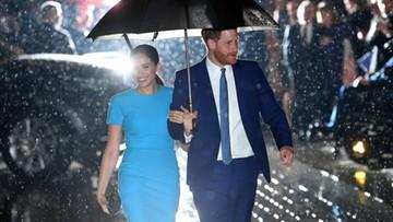 Harry i Meghan oficjalnie opuścili brytyjską rodzinę królewską