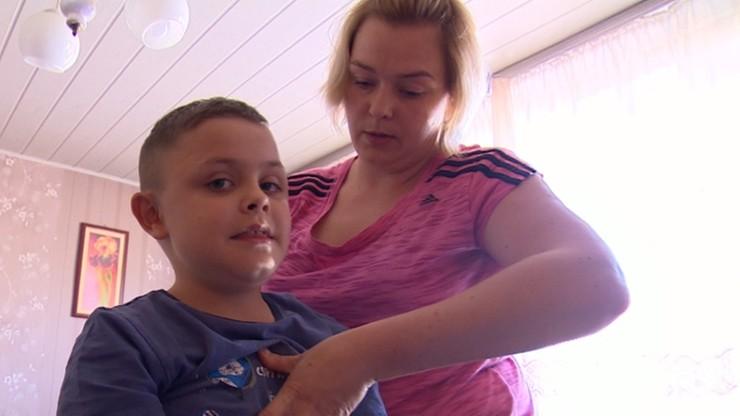 W programie historia 9-letniego Radka, który urodził się z genetyczną chorobą - postępującym zanikiem mięśni