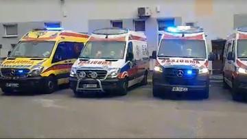 Zmarł ratownik z Radomia zakażony koronawirusem. Pożegnano go syrenami karetek