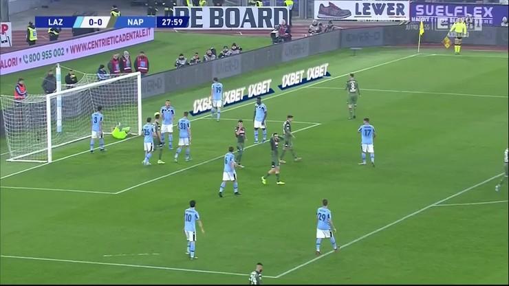 Lazio - Napoli 1:0. Skrót meczu [ELEVEN SPORTS]