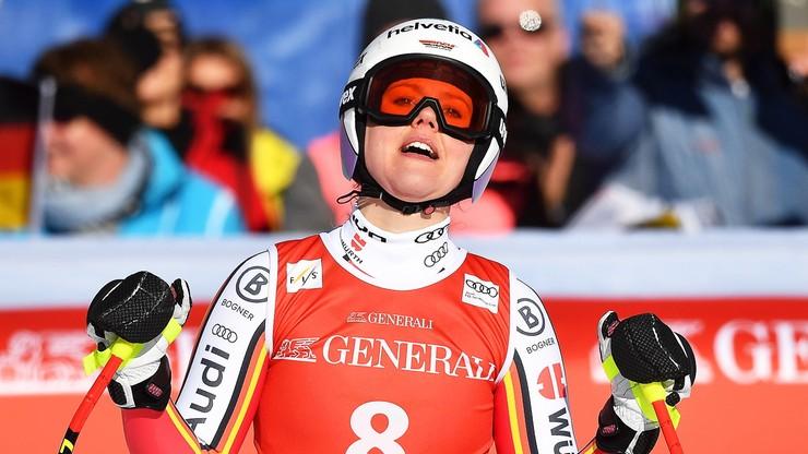 Alpejski PŚ: Rebensburg wygrała zjazd w Ga-Pa