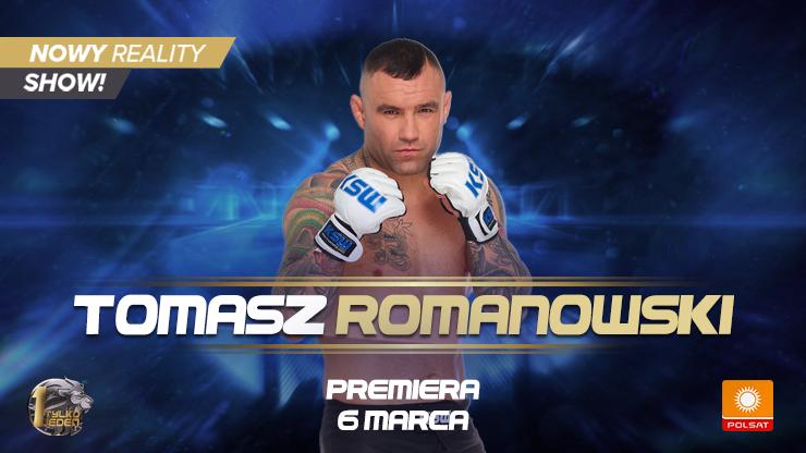 """Poznaj bohaterów reality show """"Tylko Jeden"""" - #9 Tomasz Romanowski"""