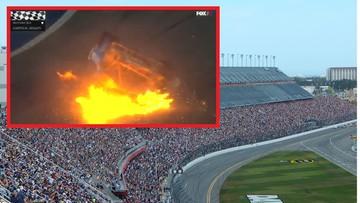 Daytona 500: wypadek podczas wyścigu. Kierowca w stanie ciężkim