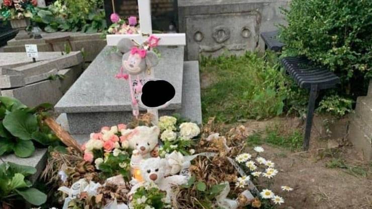 """Okradziono grób 8-miesięcznej dziewczynki. """"Nie mogę pojąć, kto mógł to zrobić"""""""