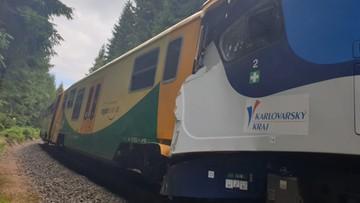 Katastrofa kolejowa obok znanego czeskiego uzdrowiska. Są ofiary, niemal 30 rannych