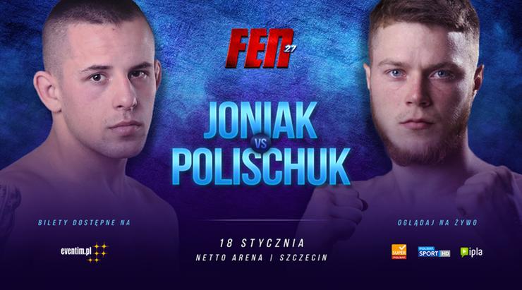 FEN 27: Zmiana w karcie walk. Polischuk w miejsce kontuzjowanego zawodnika