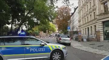 Atak na synagogę w Halle, dwie osoby nie żyją [NAGRANIE]