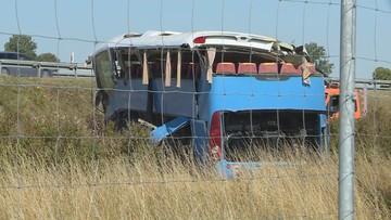 Wypadek autobusu w Stanisławie. Są zarzuty dla kierowcy