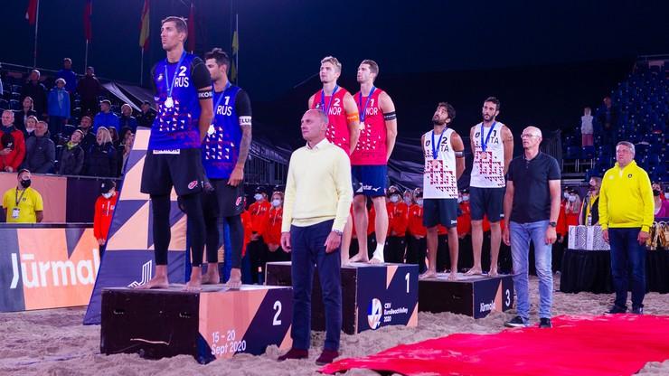 ME w siatkówce plażowej: Złote medale dla Szwajcarek i Norwegów