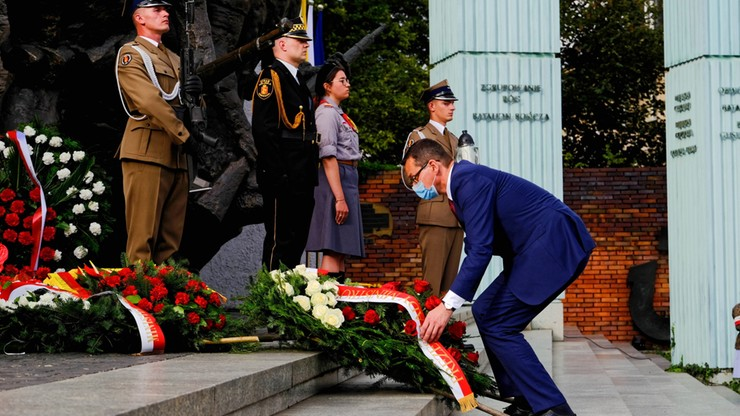 Prezydent i premier oddali hołd Powstańcom Warszawskim