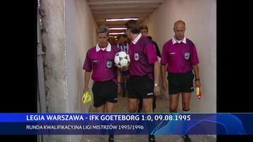 Legia Warszawa - IFK Göteborg 1:0. Skrót meczu