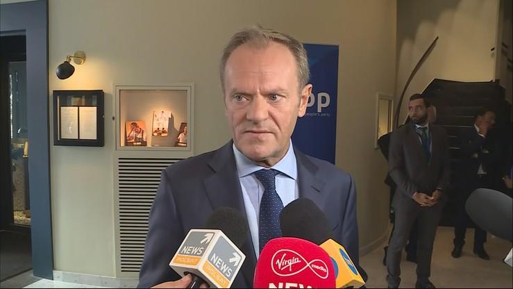 Tusk: Johnson daje głowę, że przeprowadzi porozumienie ws. brexitu