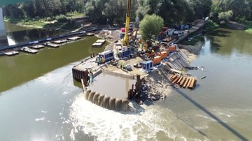 Minister środowiska: szkody po zrzucie ścieków do Wisły zostały ograniczone