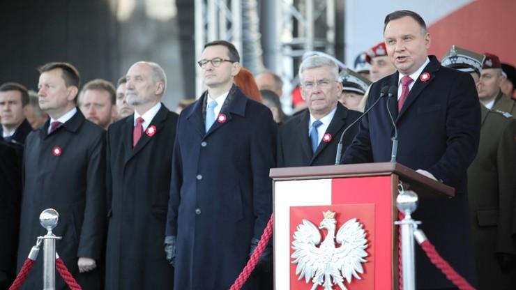 Prezydent: historycy mówią, że dzisiejsza Polska to najbardziej wolna Polska od XVII wieku