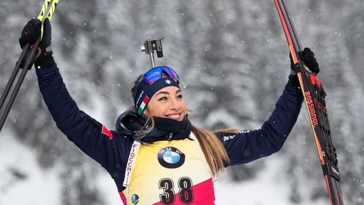PŚ w biathlonie: Wygrana Wierer, Polki w drugiej dziesiątce