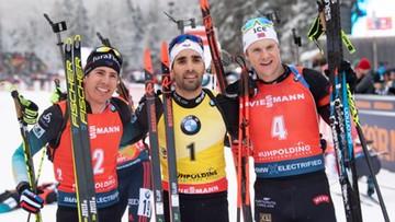 PŚ w biathlonie: Kolejna wygrana Fourcade'a