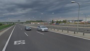Wypadek z udziałem sześciu aut w Warszawie