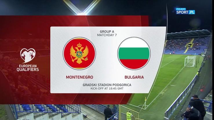Czarnogóra - Bułgaria 0:0. Skrót meczu