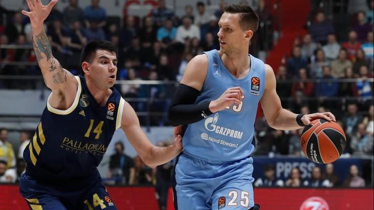 Liga VTB koszykarzy: Ponitka drugim strzelcem, Zenit rozgromił Awtodor