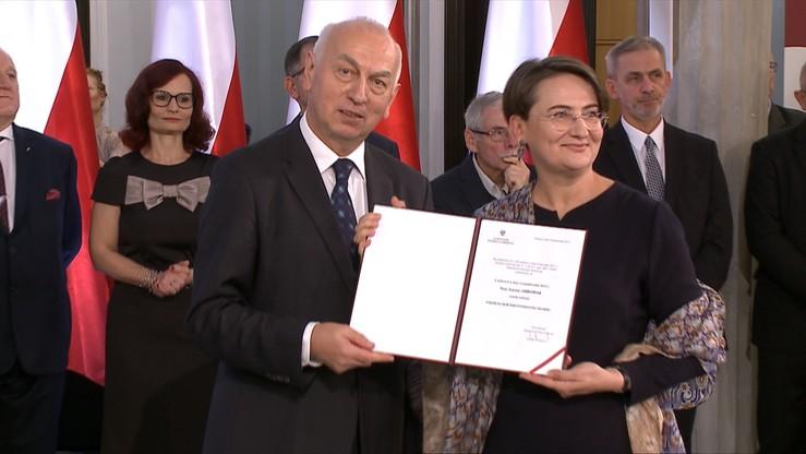 Uroczystości w Sejmie. Nowo wybrani posłowie odebrali zaświadczenia o wyborze