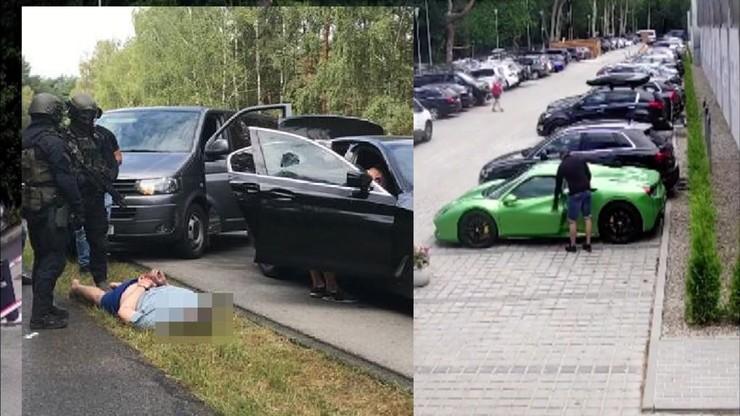 Zuchwała kradzież ferrari w Mielnie. Policja ma złodziei