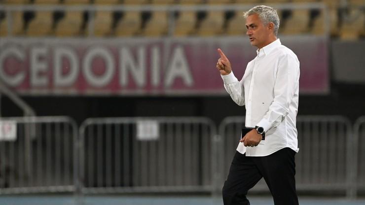 Jose Mourinho po meczu Ligi Europy: Albo urosłem, albo bramka jest za niska