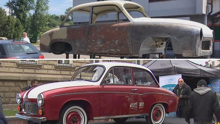 Syrena Toma Hanksa do kupienia. Zobacz odnowione auto