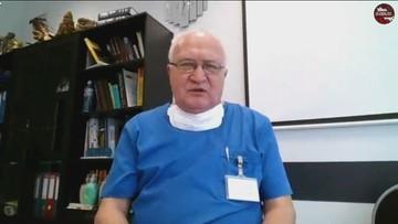Prof. Simon: spodziewam się gwałtownego nasilenia zachorowań po okresie świątecznym
