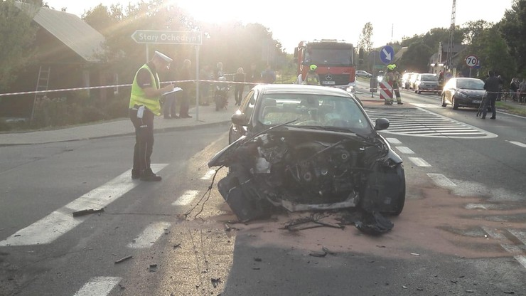 Śmiertelny wypadek motocyklistów. Zderzenie z autem i najechanie przez bus