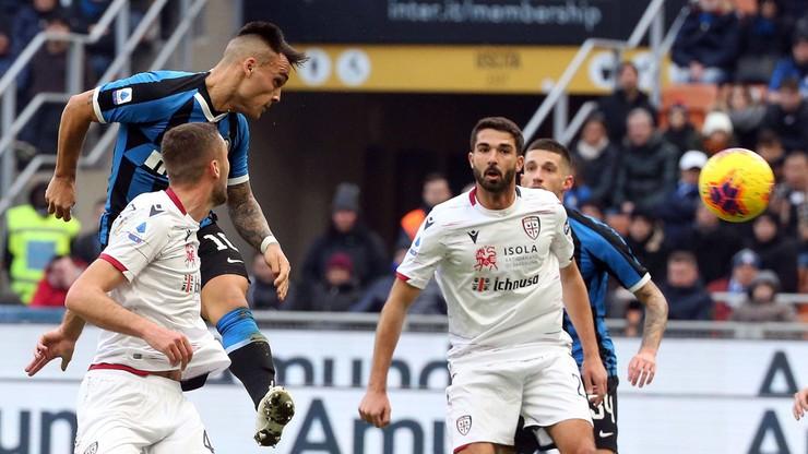 Cały mecz Walukiewicza i remis Cagliari z Interem