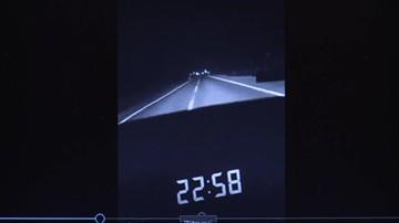 Audi w stawie, nie żyje pięć młodych osób. W sieci wideo: 180 km/h na liczniku