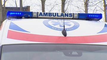Śląskie: zderzenie auta dostawczego z pociągiem
