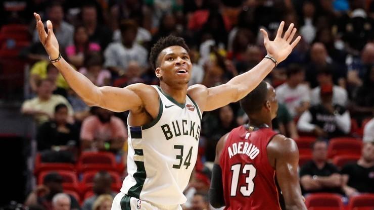 NBA: 50 punktów Antetokounmpo!